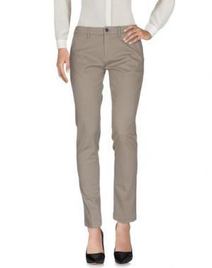 Повседневные брюки CRUCIANI. Цвет: серый