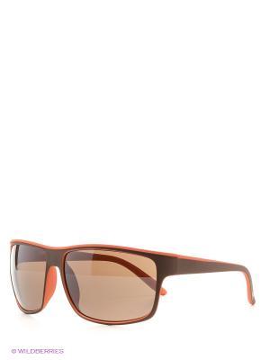 Солнцезащитные очки MS 01-324 08P Mario Rossi. Цвет: коричневый