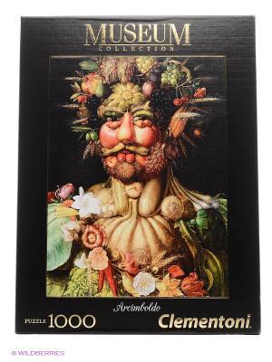 Итальянский пазл Clementoni, Арчимбольдо Портрет императора Рудольфа II в образе Вертумна. Clementoni. Цвет: черный, бежевый, белый, синий