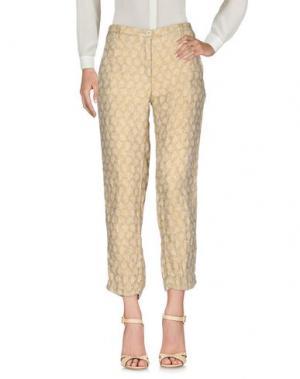 Повседневные брюки MASSIMO ALBA. Цвет: песочный