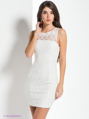 Платье NikiBiki. Цвет: белый