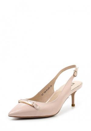 Туфли Julia Grossi. Цвет: розовый