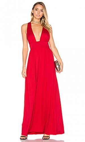 Макси платье dario Rachel Pally. Цвет: красный