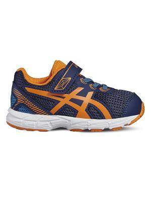 Спортивная обувь GT-1000 5 TS ASICS. Цвет: темно-синий, голубой, оранжевый