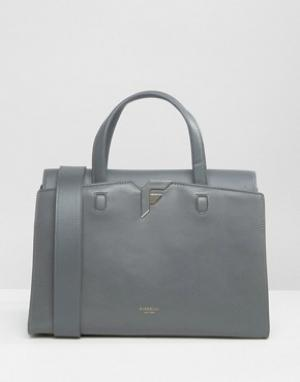 Fiorelli Средняя сумка Brompton. Цвет: серый