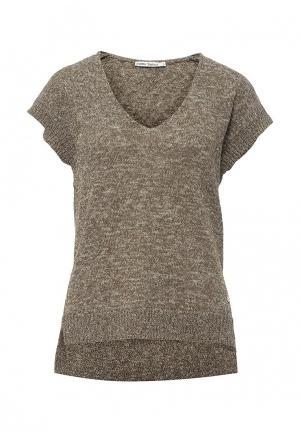 Пуловер Zarina. Цвет: хаки