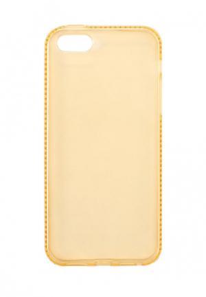 Чехол для iPhone New Case. Цвет: желтый