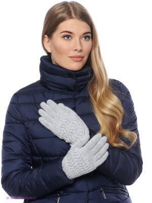 Перчатки FOMAS. Цвет: светло-серый