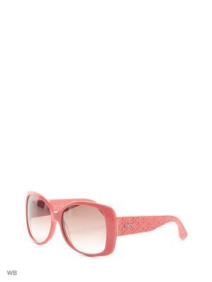 Солнцезащитные очки TO 0085 42F Tod's. Цвет: коралловый