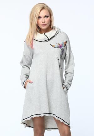 Платье Kata Binska. Цвет: серый