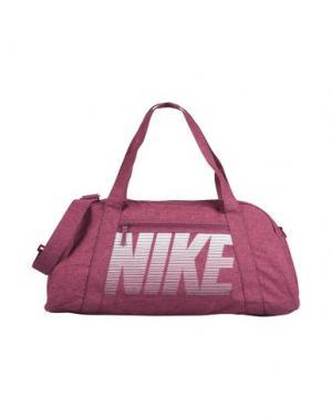 Дорожная сумка NIKE. Цвет: розовато-лиловый