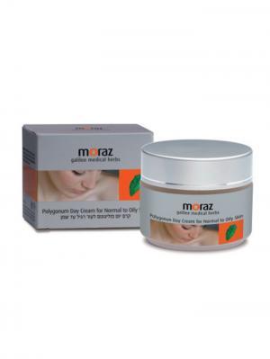 Увлажняющий дневной крем для нормальной и жирной кожи лица Moraz. Цвет: белый