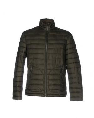 Куртка FORECAST. Цвет: зеленый-милитари