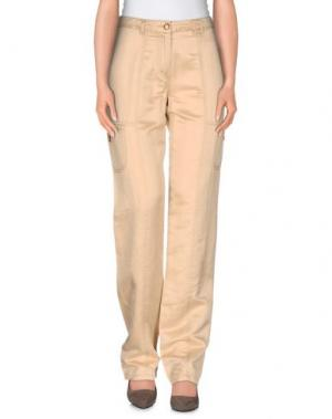 Повседневные брюки LAURA LINDOR. Цвет: бежевый