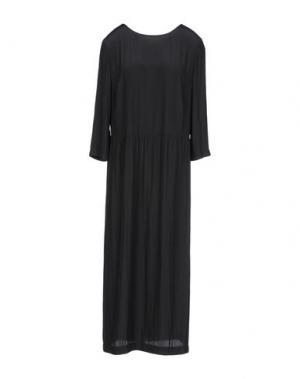 Платье до колена POUSTOVIT. Цвет: черный