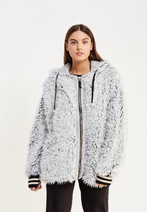 Куртка Free People. Цвет: серый