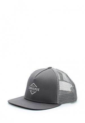 Бейсболка Converse. Цвет: серый