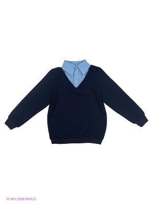 Обманка Пуловер 80 LVL. Цвет: темно-синий
