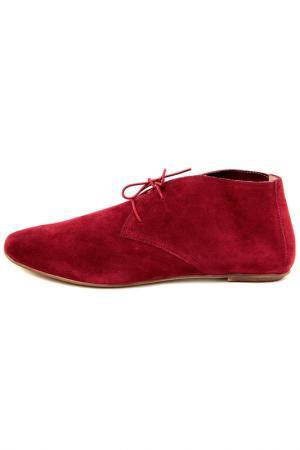 Ботинки EYE. Цвет: красный
