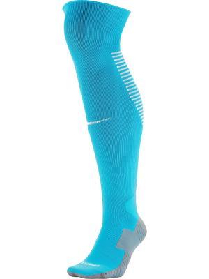 Носки U NK SQUAD OTC Nike. Цвет: бирюзовый