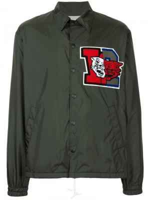 Куртка с нашивкой Facetasm. Цвет: чёрный