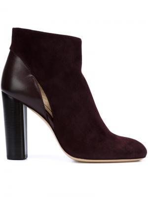 Ботинки Avery Monique Lhuillier. Цвет: красный