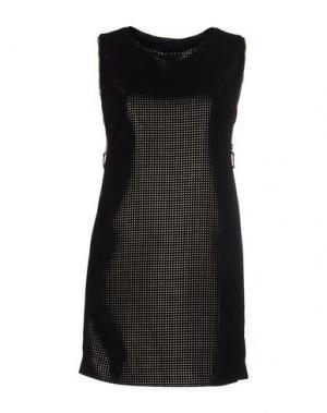 Короткое платье DACUTE. Цвет: черный