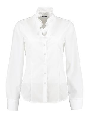 Блуза Eterna. Цвет: белый