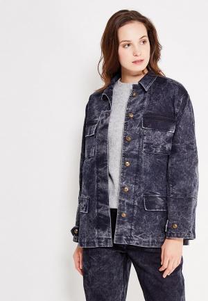Куртка джинсовая Vika Smolyanitskaya. Цвет: черный
