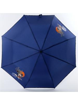 Зонт ArtRain. Цвет: темно-синий, синий