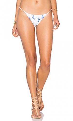 Минимальные плавки бикини Bettinis. Цвет: белый