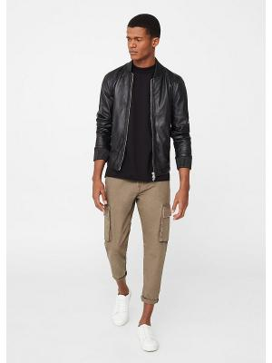 Куртка - LIVORNO MANGO MAN. Цвет: черный