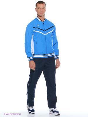 Спортивный костюм Joma. Цвет: голубой, синий