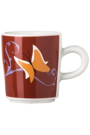 Чашка кофейная, набор 6шт KAHLA. Цвет: белый