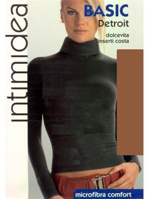 Водолазка Intimidea. Цвет: коричневый