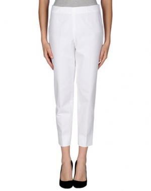 Повседневные брюки QL2 QUELLEDUE. Цвет: белый