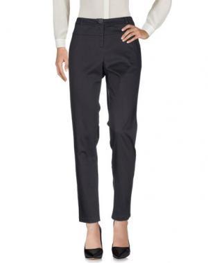 Повседневные брюки KARTIKA. Цвет: свинцово-серый