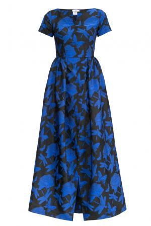 Платье с аксессуаром 155953 Y.amelina. Цвет: разноцветный