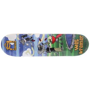 Дека для скейтборда  Kremer Sk8rats Multi 32.12 x 8.25 (21 см) Sk8mafia. Цвет: мультиколор
