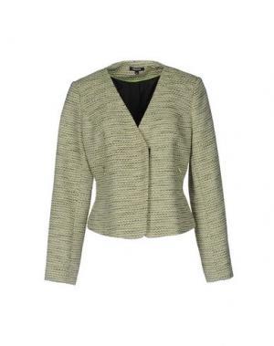 Пиджак MORGAN DE TOI. Цвет: кислотно-зеленый