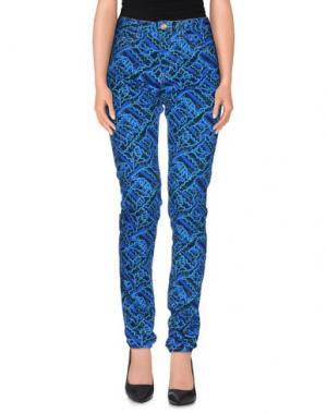 Джинсовые брюки CALLA. Цвет: ярко-синий