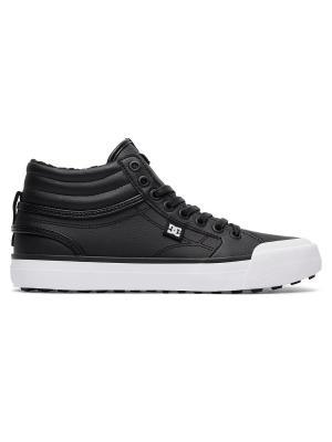 Кеды DC Shoes. Цвет: черный, антрацитовый, белый
