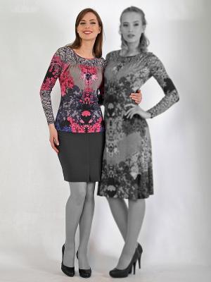 Блузка LISSA. Цвет: лиловый