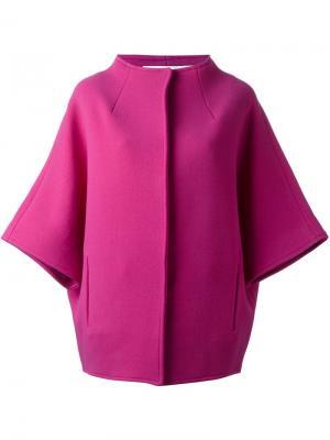 Пальто с широкими рукавами Gianluca Capannolo. Цвет: розовый и фиолетовый