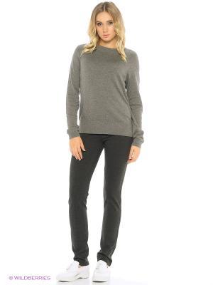 Трикотажные брюки ARSTA. Цвет: антрацитовый
