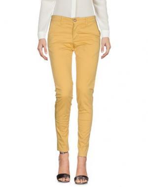 Повседневные брюки SQUAD². Цвет: желтый