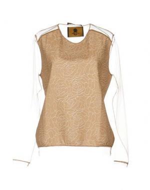 Блузка ANT PITAGORA. Цвет: телесный