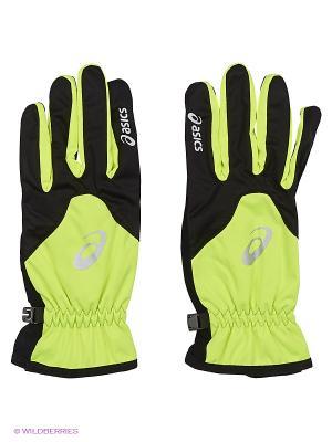 Перчатки WINTER GLOVE ASICS. Цвет: желтый