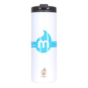 Бутылка для воды  Travel Mug 500ml Glossy White Le Mizu. Цвет: белый