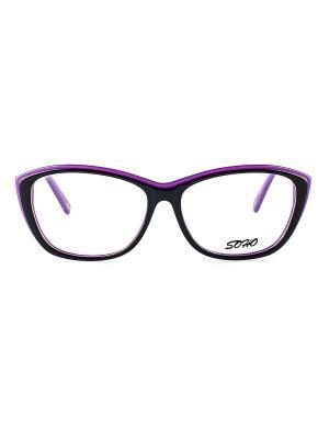 Оправа Soho collection. Цвет: темно-фиолетовый